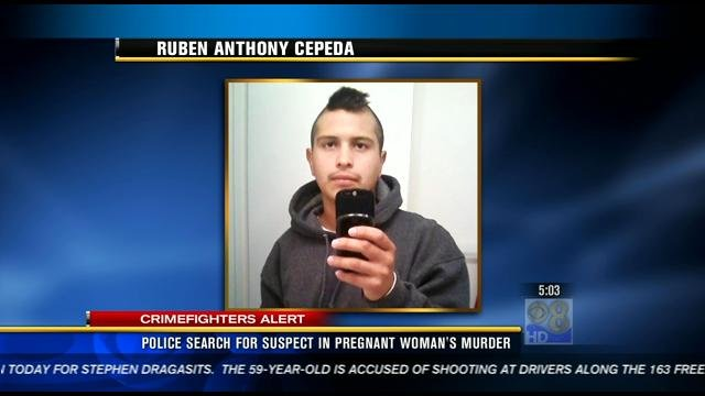This is an undated picture of the woman's boyfriend, Ruben Anthony Cepeda.