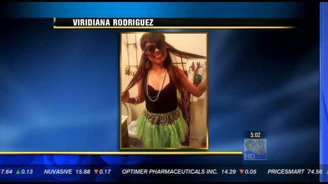 This is a picture of the victim, 18-year-old Viridiana Rodriguez.