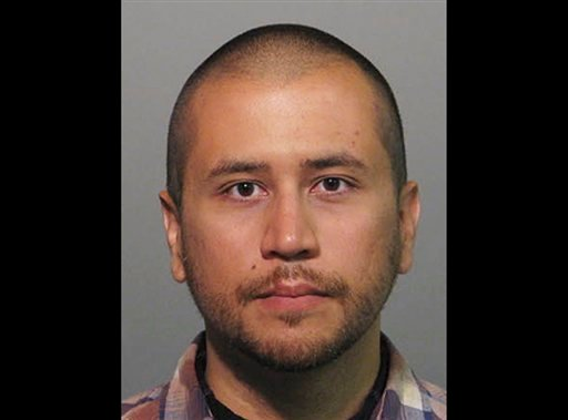 This Wednesday, April 11, 2012 booking photo provided by the Sanford Police Department shows George Zimmerman. (AP Photo/Sanford Police Department)