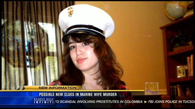 This photo and the one below are both video images of Brittany Killgore.