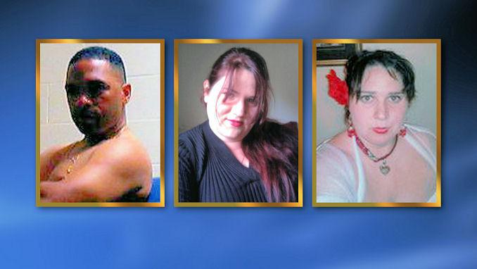Suspects 45-yr-old Louis Perez, 36-yr-old Dorothy Maraglino, 25-yr-old Jessica Lopez
