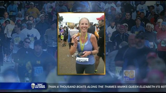 News 8's own producer, Kim Beekman completed the Rock-n-Roll Marathon