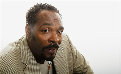 This April 13, 2012 file photo shows Rodney King posing for a portrait in Los Angeles. (AP Photo/Matt Sayles, file)
