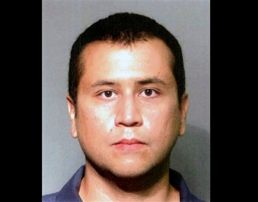 FILE - This file booking photo provided by the Seminole County Sheriff's Office shows George Zimmerman. (AP Photo/Seminole County Sheriff's Office, File)