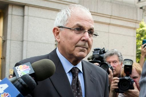 Peter Madoff leaves Federal Court on Friday, June 29, 2012 in New York after pleading guilty to criminal charges. (AP Photo/John Minchillo)