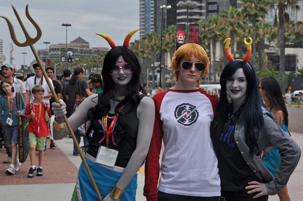 Comic-Con photo courtesy of Napoleon.