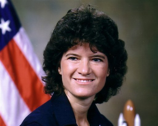 This undated photo released by NASA shows astronaut Sally Ride. Ride, the first American woman in space, died Monday, July 23, 2012 after a 17-month battle with pancreatic cancer. She was 61. (AP Photo/NASA, File)