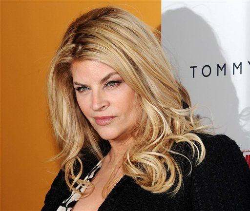 "FILE - This March 17, 2010 file photo shows actress Kirstie Alley at the premiere for the film ""The Runaways"" at the Landmark Sunshine Theater in New York. (AP Photo/Evan Agostini, file)"