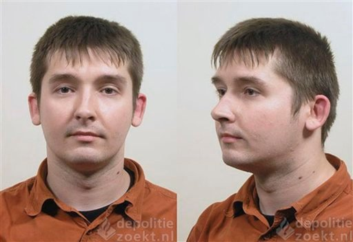 © Undated booking photos, taken by the national police in The Netherlands and provided by U.S. Immigration and Customs Enforcement, show Robert Mikelsons, who was sentenced in Amsterdam on May 21, 2012, to 18 years in prison for abusing dozens of babies.