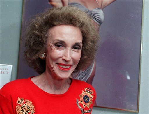 FILE - This 1990 file photo shows Cosmopolitan magazine editor Helen Gurley Brown in her New York office. Brown, longtime editor of Cosmopolitan magazine, died Monday, Aug. 13, 2012 at a hospital in New York after a brief hospitalization. She was 90. (AP)