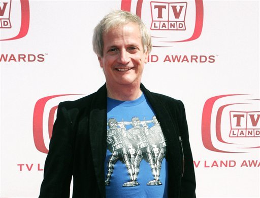 """Actor Ron Palillo at the TV Land Awards in Santa Monica. Palillo, best known as the nerdy high schooler Arnold Horshack on """"Welcome Back, Kotter,"""" died Aug. 14, 2012, in Palm Beach Gardens, Fla., of an apparent heart attack. (AP Photo/Mark Mainz, file)"""