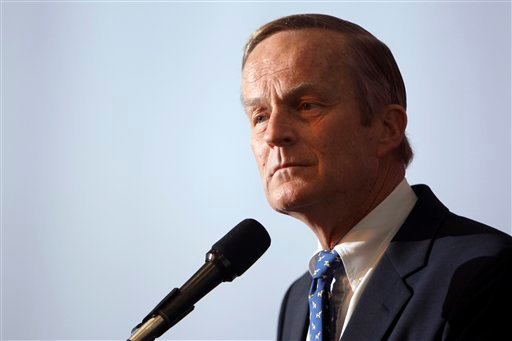 "© U.S. Rep. Todd Akin said in an interview Sunday, Aug. 19, 2012 with St. Louis television station KTVI that pregnancy from rape is ""really rare."""
