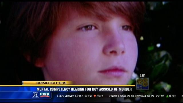 Photo of 12-year-old boy Ryan Carter, who was fatally stabbed in January. The young boy's friend is accused of the murder.