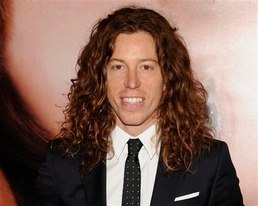 In this file photo taken April 18, 2012, Olympic athlete Shaun White is photographed in New York.
