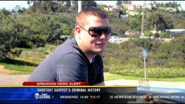 News 8 has identified the suspect in Tuesday's shooting in Lakeside as Daniel Witczak.