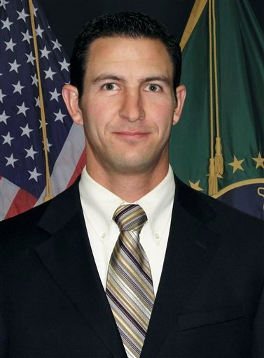This undated photo provided by U.S. Customs and Border Protection shows Border Patrol agent Nicolas Ivie. (AP Photo/U.S. Customs and Border Protection)