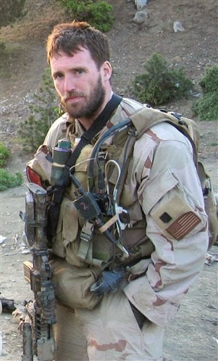 In this undated photo provided by the United States Navy, SEAL Lt. Michael P. Murphy of Patchogue, N.Y., is shown while deployed in Asadabad, Afghanistan.