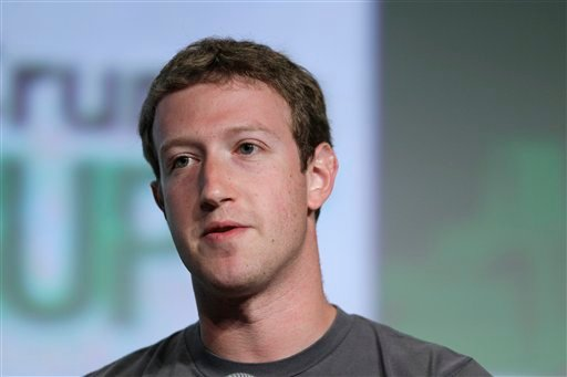 © Zuckerberg updated his Facebook status on Thursday, Oct. 4, 2012, to announce that the social networking site has more than 1 billion active users each month. He thanked users and said that he is committed to making Facebook better.