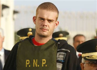 © A Dutch newspaper said on Monday, Oct. 8, 2012, that Joran van der Sloot, who is serving a 28-year-sentence for murdering a young Peruvian woman, has impregnated a woman while imprisoned in Lima.