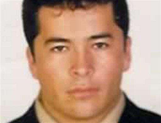 © The Mexican navy says on Monday, Oct. 8, 2012, Lazcano has apparently been killed in a firefight with marines in the Mexican northern border state of Coahuila.