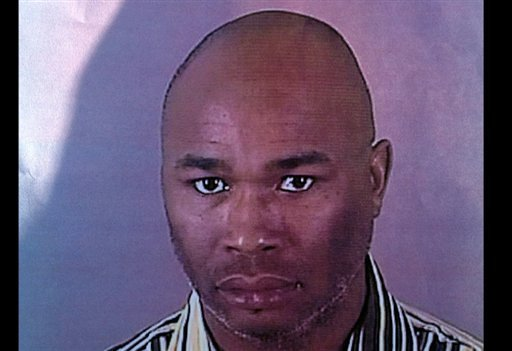 © This photo provided by the Brookfield Police Dept. shows Radcliffe Franklin Haughton, 45, of Brown Deer, Wis. Deputies are searching for Haughton on Sunday, Oct. 21, 2012, who's suspected of wounding multiple people in a shooting at a Milwaukee spa.