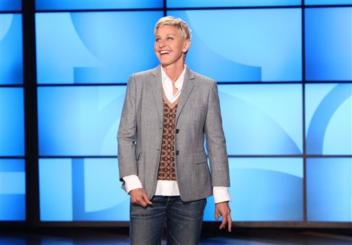 © The Kennedy Center in Washington is awarding DeGeneres the Mark Twain Prize for American Humor on Oct. 22. The show will be broadcast on PBS stations Oct. 30.