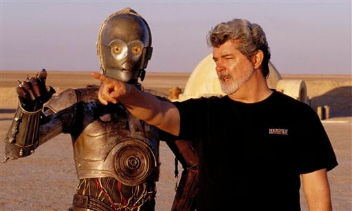 © Dozens of groundbreaking technologies were developed for the production of the Star Wars movies. There's no mistaking the similarities.