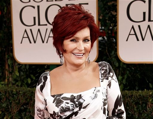 © This Jan. 15, 2012 file photo shows Sharon Osbourne at the 69th Annual Golden Globe Awards in Los Angeles. Sharon Osbourne says she had a double mastectomy after learning she carries a gene that increases the risk of developing breast cancer.