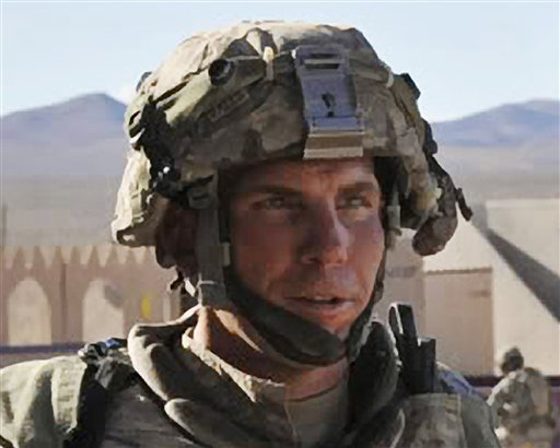 © In this Aug. 23, 2011, file photo, Defense Video & Imagery Distribution System photo, Staff Sgt. Robert Bales, 1st platoon sergeant, Blackhorse Company, 2nd Battalion, 3rd Infantry Regiment, 3rd Stryker Brigade Combat Team.