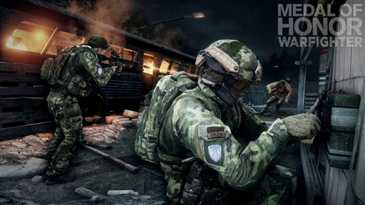 "This product image provided by Electronic Arts shows action from the video game ""Medal of Honor: Warfighter."" (AP Photo/Electronic Arts)"