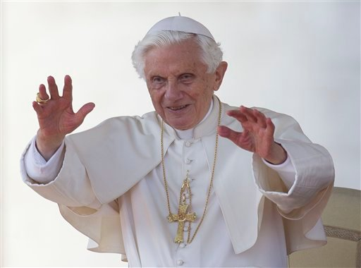  The Vatican spokesman on Thursday, Nov. 8, 2012 said that the 85-year-old Benedict will start tweeting from a personal Twitter account, perhaps before the end of the year.