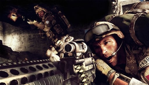 "© This undated publicity photo provided by Electronic Arts Inc. shows a scene from the video game ""Medal of Honor: Warfighter."""