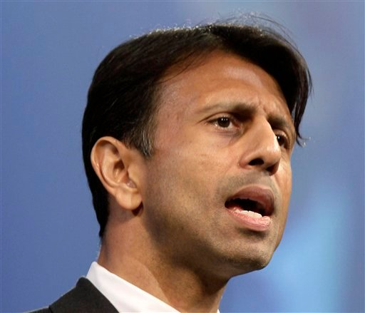 FILE - This July 27, 2012 file photo shows Louisiana Gov. Bobby Jindal speaking in Hot Springs, Ark. The Grand Old Party needs to get with the times. (AP Photo/Danny Johnston, File)