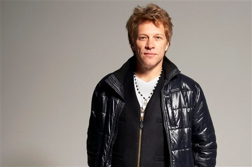 © In this Nov. 29, 2012, photo, musician, singer, song-writer, record producer and actor Jon Bon Jovi poses for a portrait in the Brooklyn Borough of New York.