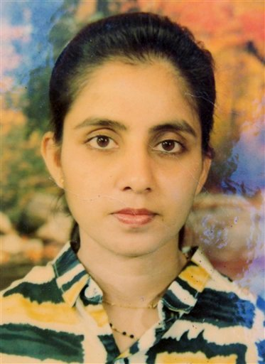 © In this undated handout photo of the late nurse Jacintha Saldanha of King Edward VII hospital, provided by Saldanha's family in Shirva north of Mangalore, India after Saldanha was found dead in central London on Friday, Dec. 7, 2012.