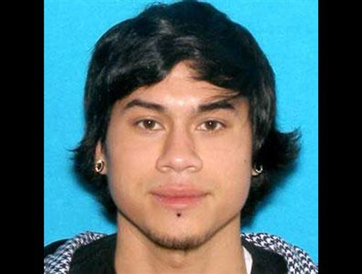 This photo provided by the Clackamas County Sheriff's Department shows Jacob Tyler Roberts, the suspect in a shooting at an Oregon Mall on Tuesday Dec. 11, 2012.