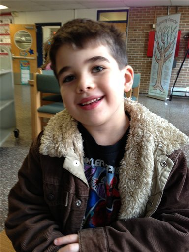© This Nov. 13, 2012 photo provided by the family via The Washington Post shows Noah Pozner. The six-year-old was one of the victims in the Sandy Hook elementary school shooting in Newtown, Conn. on Dec. 14, 2012.