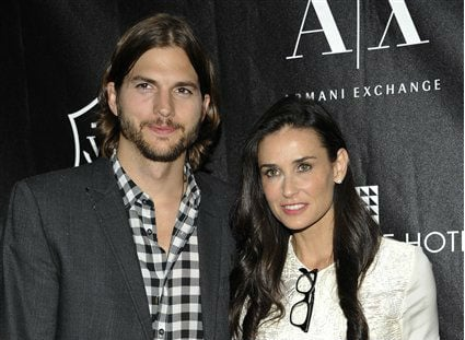 ©  In this June 9, 2011 file photo, actors Ashton Kutcher and Demi Moore attend the first annual Stephan Weiss Apple Awards at the Urban Zen Center in New York. Court records show Kutcher filed for divorce from Moore on Friday, Dec. 21, 2012.