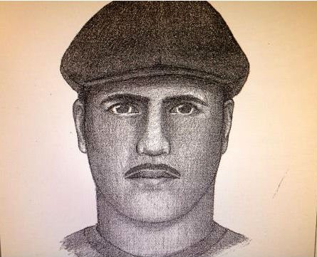 Police sketch of possible person of interest - not suspect.