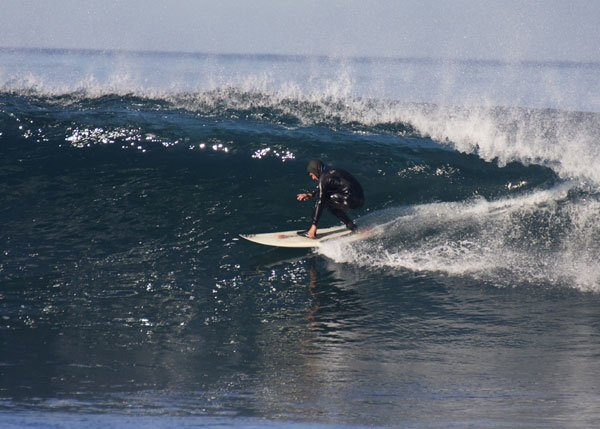 This is a viewer submitted picture of the big surf at La Jolla on Wednesday, January 2, 2013. Photo courtesy of Mike.