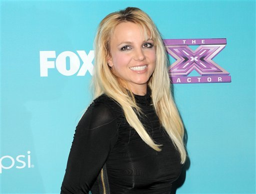 "FILE - This Nov. 5, 2012 file photo shows singer and celebrity judge Britney Spears at the ""X-Factor"" Finalists Party in Los Angeles. (AP)"