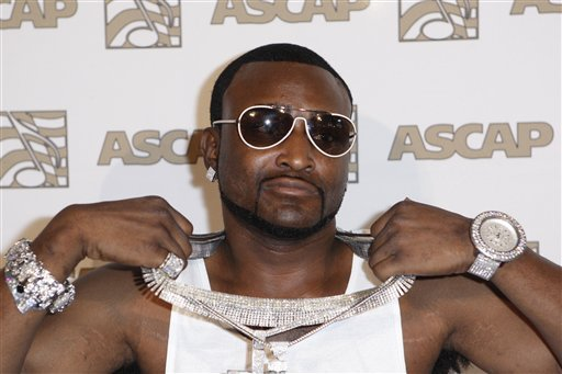 In this Monday, June 23, 2008 photo, Shawty Lo arrives at the 21st annual ASCAP Rhythm & Soul Music Awards in Beverly Hills, Calif. (AP)