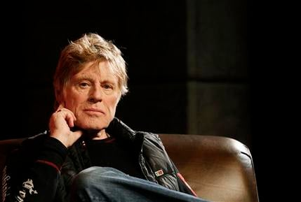 Jan. 19, 2012 file photo, Sundance Institute president and founder Robert Redford looks on during a press conference at the 2012 Sundance Film Festival in Park City, Utah. (AP Photo/Danny Moloshok, File)