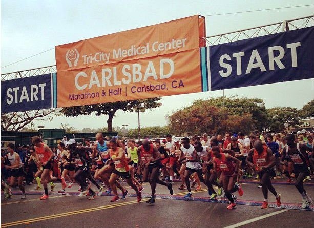 © Photo credit: Tri-City Medical Center Carlsbad Marathon & Half Marathon.