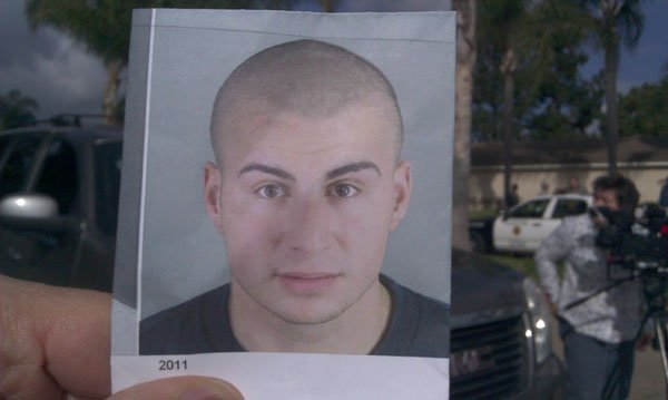 This is a photo of the murder suspect SDPD and Anaheim Police are searching for in the Tierrasanta area Tuesday, January 29, 2013.