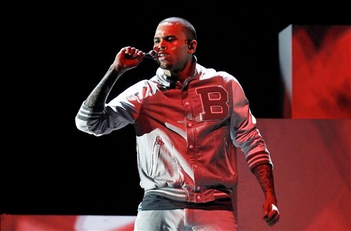 FILE - In this Feb. 12, 2012 file photo, Chris Brown performs during the 54th annual Grammy Awards, in Los Angeles. (AP)