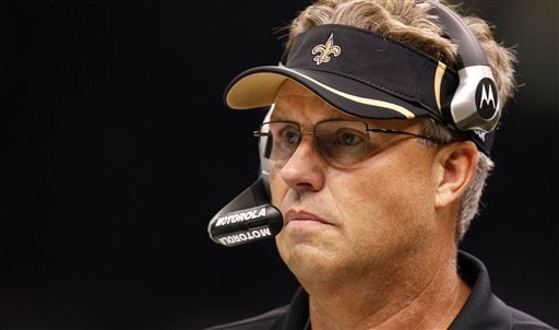 In a Sunday Sept. 26, 2010 photo Saints defensive coordinator Gregg Williams stands on the sidellines during an NFL football game at the Louisiana Superdome in New Orleans, La. (AP)