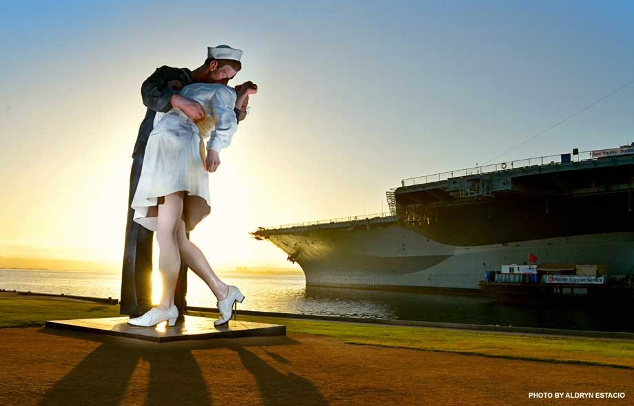 &quot;Unconditional Surrender&quot; - photo by Aldryn Estacio submitted via CBS 8 Your Stories Photos