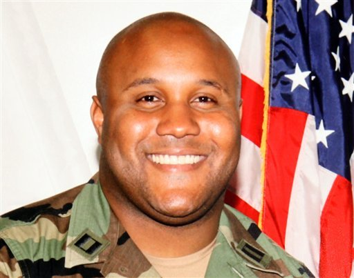 © This undated file photo provided by the Los Angeles Police Department shows suspect Christopher Dorner, a former Los Angeles police officer.