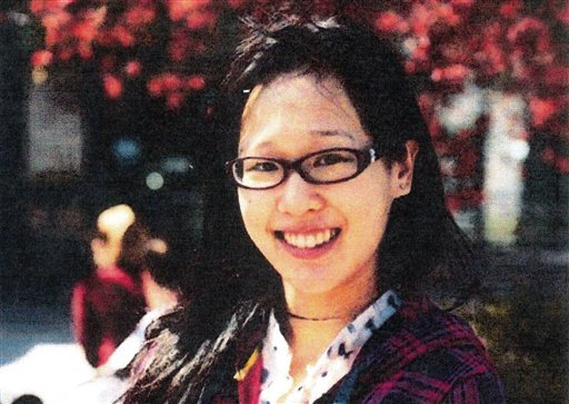 © This file photo released by the Los Angeles Police Department shows Elisa Lam of Vancouver, B.C. Los Angeles police say a body has been found on the roof of the Cecil Hotel where Lam, a Canadian tourist, was last seen last month.